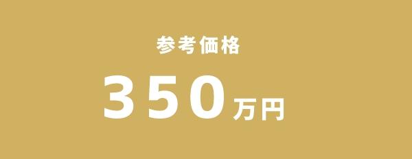 参考価格 350万円~