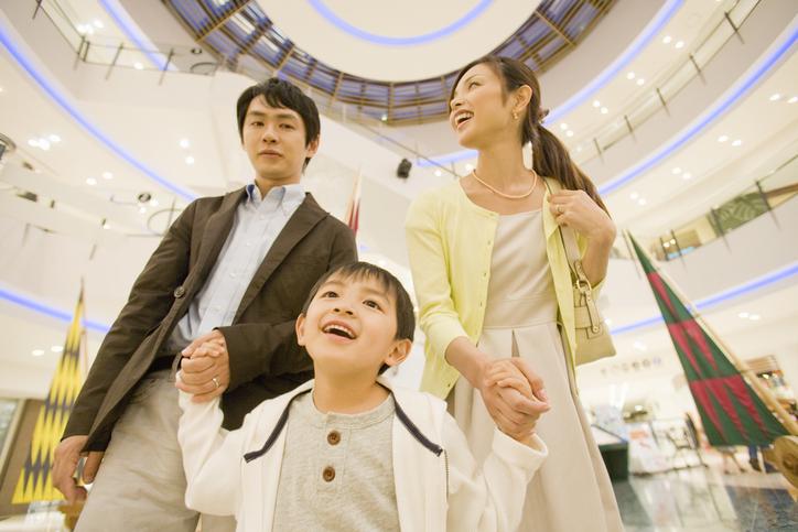 商業施設で行う宝探しイベントの特徴